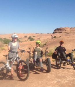 Trikes in desert